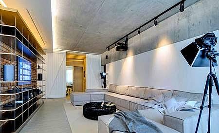 потолок из бетона